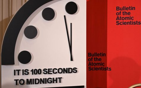 The Bulletin of the Atomic Scientists have decided to move the clock to 100 seconds from midnight. This is the closest the clock has been to midnight since its creation.