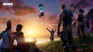 Picture of the video game Fortnite.