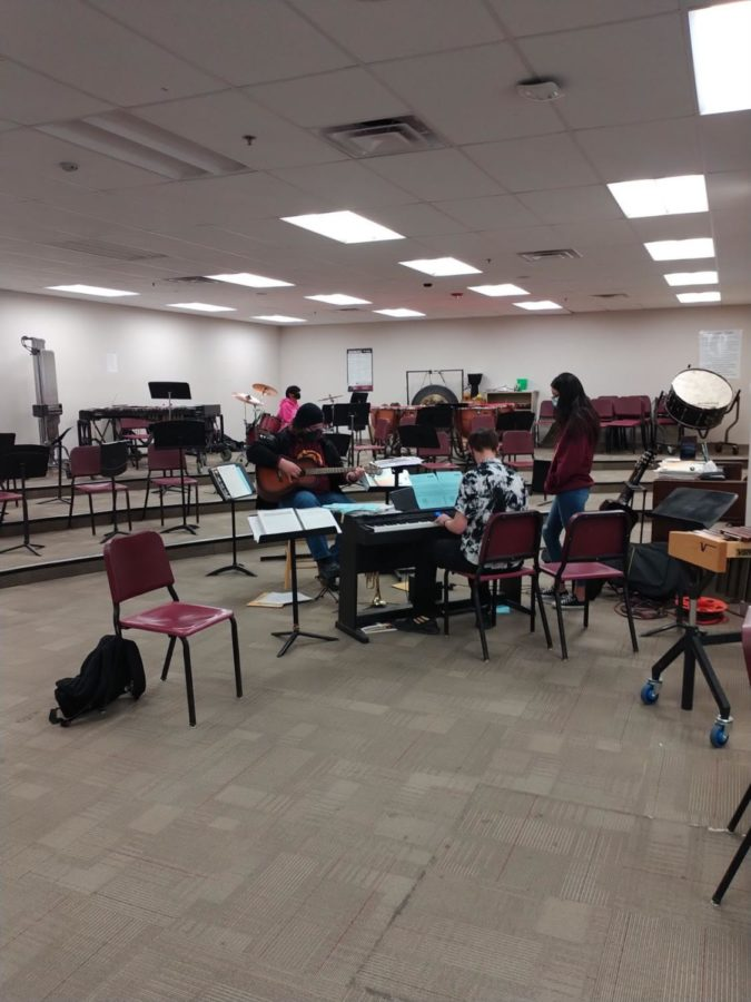 PVHS Music room
